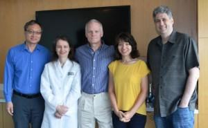 Dr. Fen-Biao.Gao, Dr. Sandra C. Almeida, Angel Fund President Rich Kennedy,Dr. Claudia Fallini,