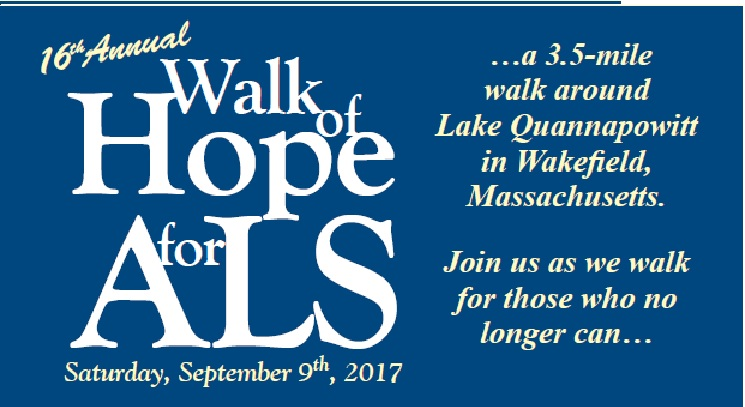 2017 Walk of Hope for ALS
