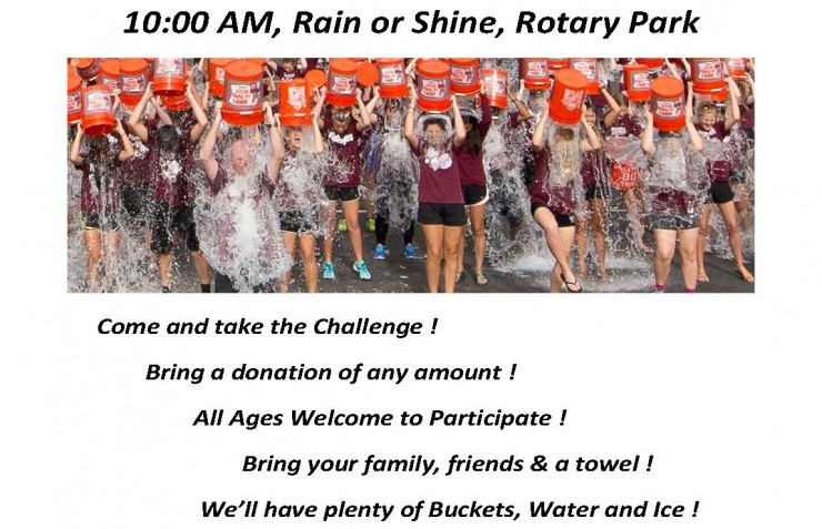 Wilmington Rotary Club's Community Ice Bucket Challenge